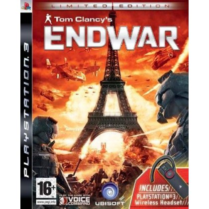 Tom Clancy's EndWar + гарнитура (PS3) Русская версия