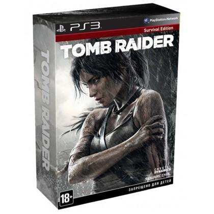 Tomb Raider Survival Edition (PS3) Русская версия
