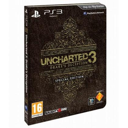 Uncharted 3. Иллюзии Дрейка Special Edition (PS3) Русская версия