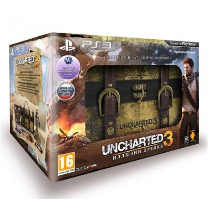 Uncharted 3 Комплект искателя приключений (PS3) Русская версия