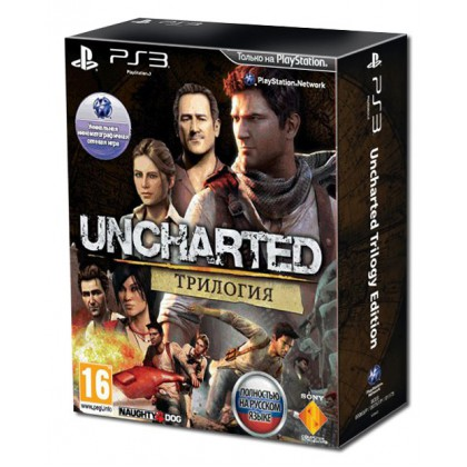 Uncharted Трилогия (PS3) Русская версия