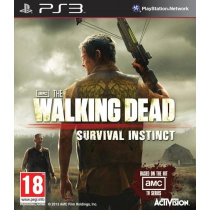 Walking Dead Survival Instinct Инстинкт выживания (PS3) Русские субтитры