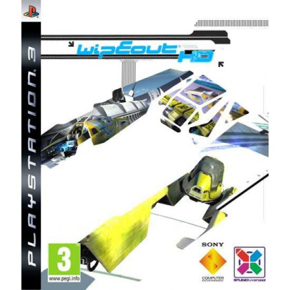WipeOut HD (PS3) Русская версия
