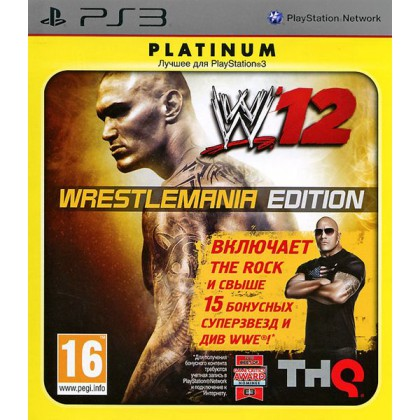 WWE 12 Wrestlemania Edition (PS3)