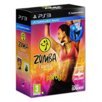 Zumba Fitness + спортивная повязка (PS3)