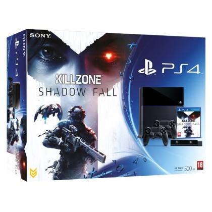 Игровая приставка Sony PS4 (500 Gb) + Killzone Shadow Fall + 2 геймпада + камера