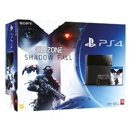 Игровая приставка Sony PS4 (500 Gb) + Killzone Shadow Fall
