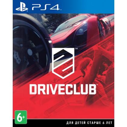 DriveClub (PS4) Русская версия