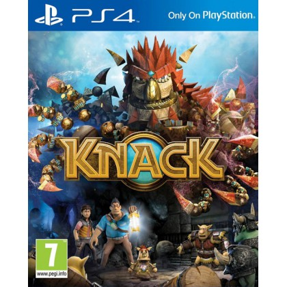 Knack (PS4) Русская версия