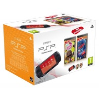 Игровая приставка Sony PSP Street (E1008) + LittleBigPlanet..