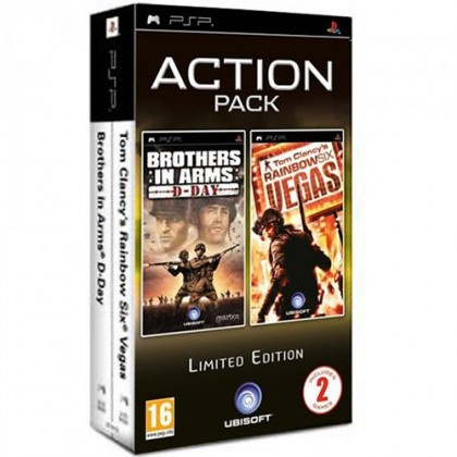 Комплект: Brothers in Arms: D-Day + Tom Clancy's Rainbow Six Vegas (PSP)