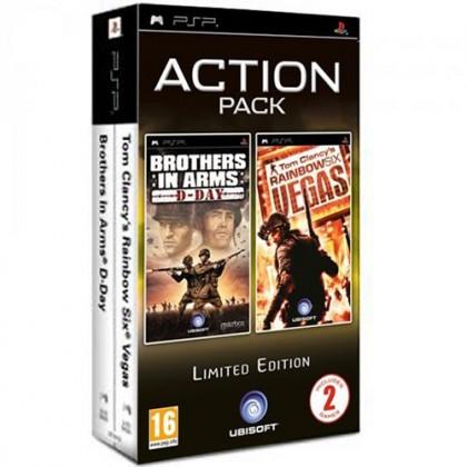 Комплект: Brothers in Arms: D-Day + Tom Clancy's Rainbow Six Vegas (PSP)