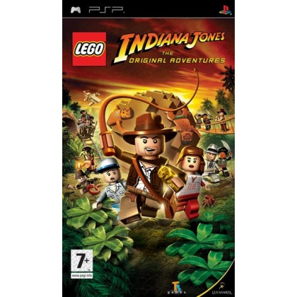 Lego Indiana Jones: Original Adventures (PSP)