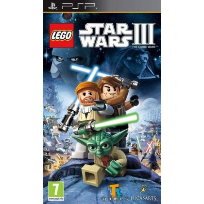 LEGO Star Wars 3: The Clone Wars (PSP)