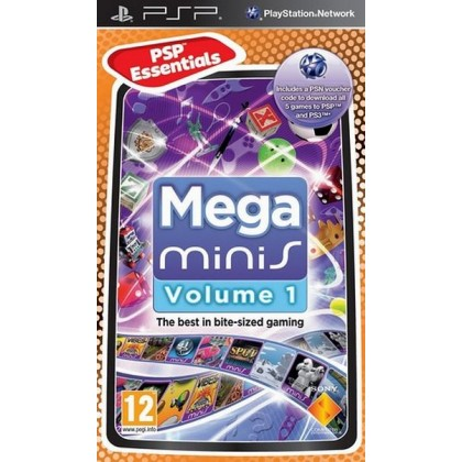 Mega Minis Volume 1 (PSP)