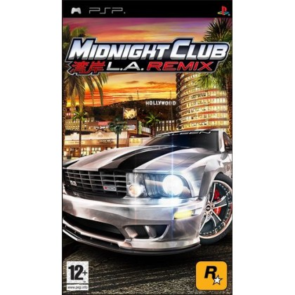 Midnight Club: Los Angeles Remix (PSP)