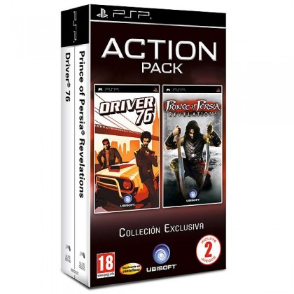 Комплект: Driver 76 + Prince of Persia: Revelations (PSP)