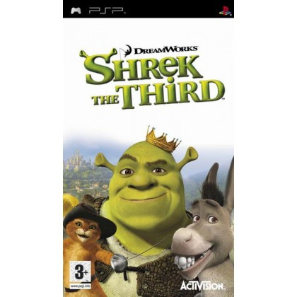 shrek the third psp рус #6