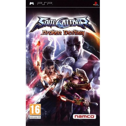 SoulCalibur: Broken Destiny (PSP) Русская версия