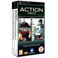 Комплект: Splinter Cell + Ghost Recon: Advanced (PSP)