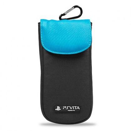 Мягкий чехол голубой для PS Vita Clean N Protect Pouch - Blue A4T