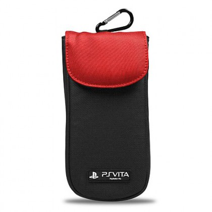 Мягкий чехол красный для PS Vita Clean N Protect Pouch - Red A4T