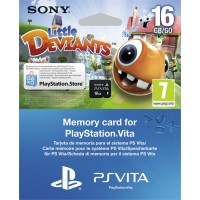 16GB SONY Карта памяти (PS Vita) + Little Deviants