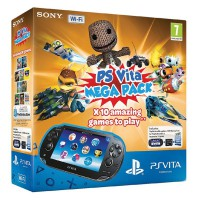 Игровая приставка Sony PS Vita (3G-WiFi) Mega Pack 10 игр