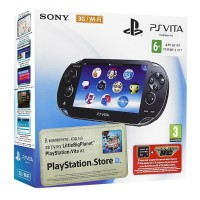 Игровая приставка Sony PS Vita (3G-WiFi) + MotorStorm RC..