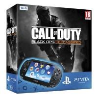 Игровая приставка Sony PS Vita (WiFi) черная + Call of Duty..