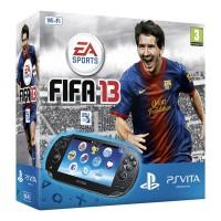 Игровая приставка Sony PS Vita (WiFi) черная + FIFA 13