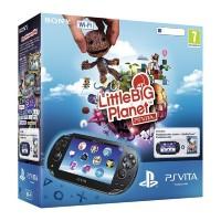Игровая приставка Sony PS Vita (WiFi) черная + LittleBigPlanet