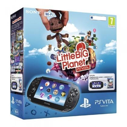 Игровая приставка Sony PS Vita (WiFi) черная + LittleBigPlanet + карта памяти 4GB