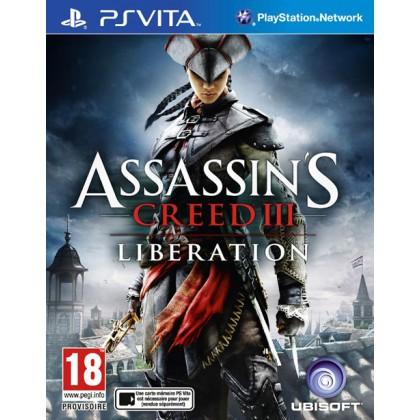 Assassin's Creed 3: Liberation (PS Vita) Русские субтитры