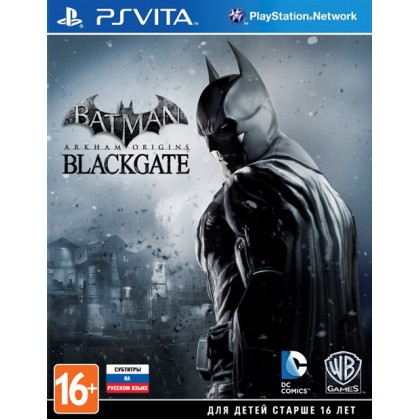 Batman: Arkham Origins Blackgate (PS Vita) Русские субтитры