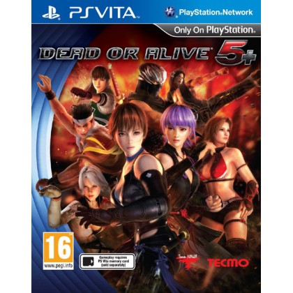 Dead or Alive 5 Plus (PS Vita)