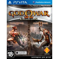 God of War Collection (PS Vita) Русская версия