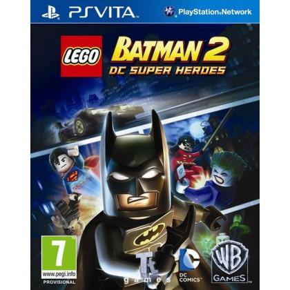 LEGO Batman 2: DC Super Heroes (PS Vita) Русские субтитры