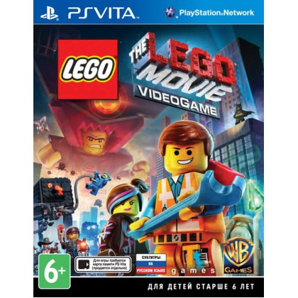 LEGO Movie Videogame (PS Vita) Русские субтитры
