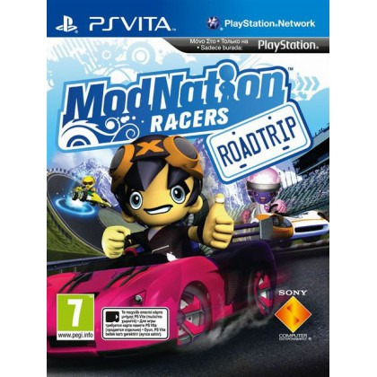 ModNation Racers: Road Trip (PS Vita) Русская версия