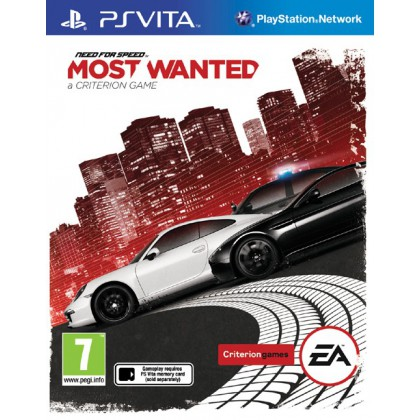 Need for Speed: Most Wanted (PS Vita) Русская версия