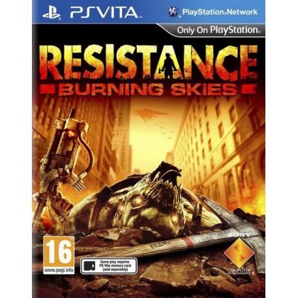 Resistance: Burning Skies (PS Vita) Русская версия