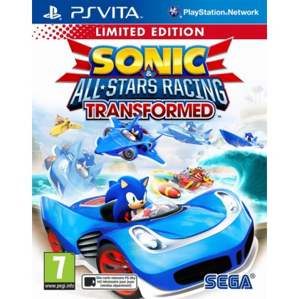 Sonic & All-Star Racing Transformed. Limited Edition (PS Vita)