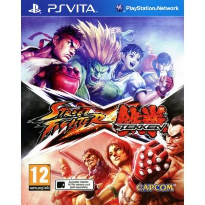 Street Fighter X Tekken (PS Vita) Русские субтитры