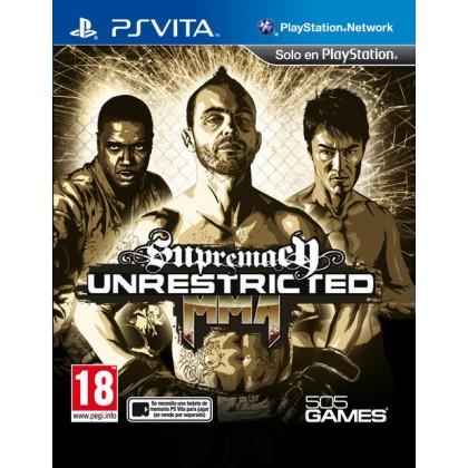 Supremacy MMA UNRESTRICTED (PS Vita)