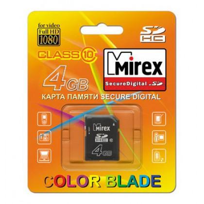 4GB MIREX карта памяти SDHC class10