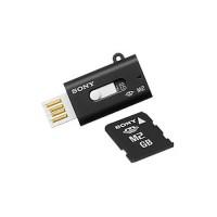 8GB SONY карта памяти Memory Stick Micro M2 c USB-адаптером