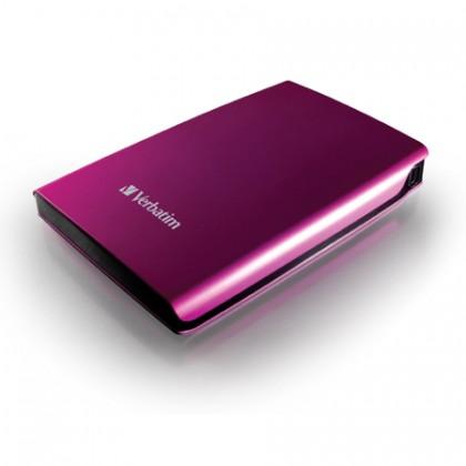 500GB Внешний HDD 2.5'' Verbatim Store 'n' Go розовый
