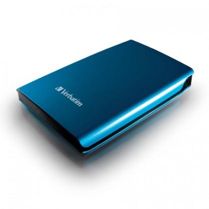 320GB Внешний HDD 2.5'' Verbatim Store 'n' Go синий
