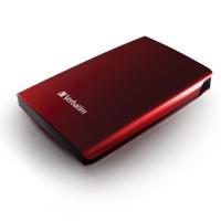 320GB Внешний HDD 2.5 Verbatim Store n Go красный